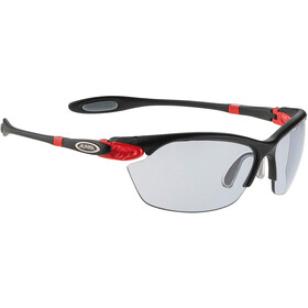 Alpina Twist Three 2.0 VL Lunettes, black matt-red